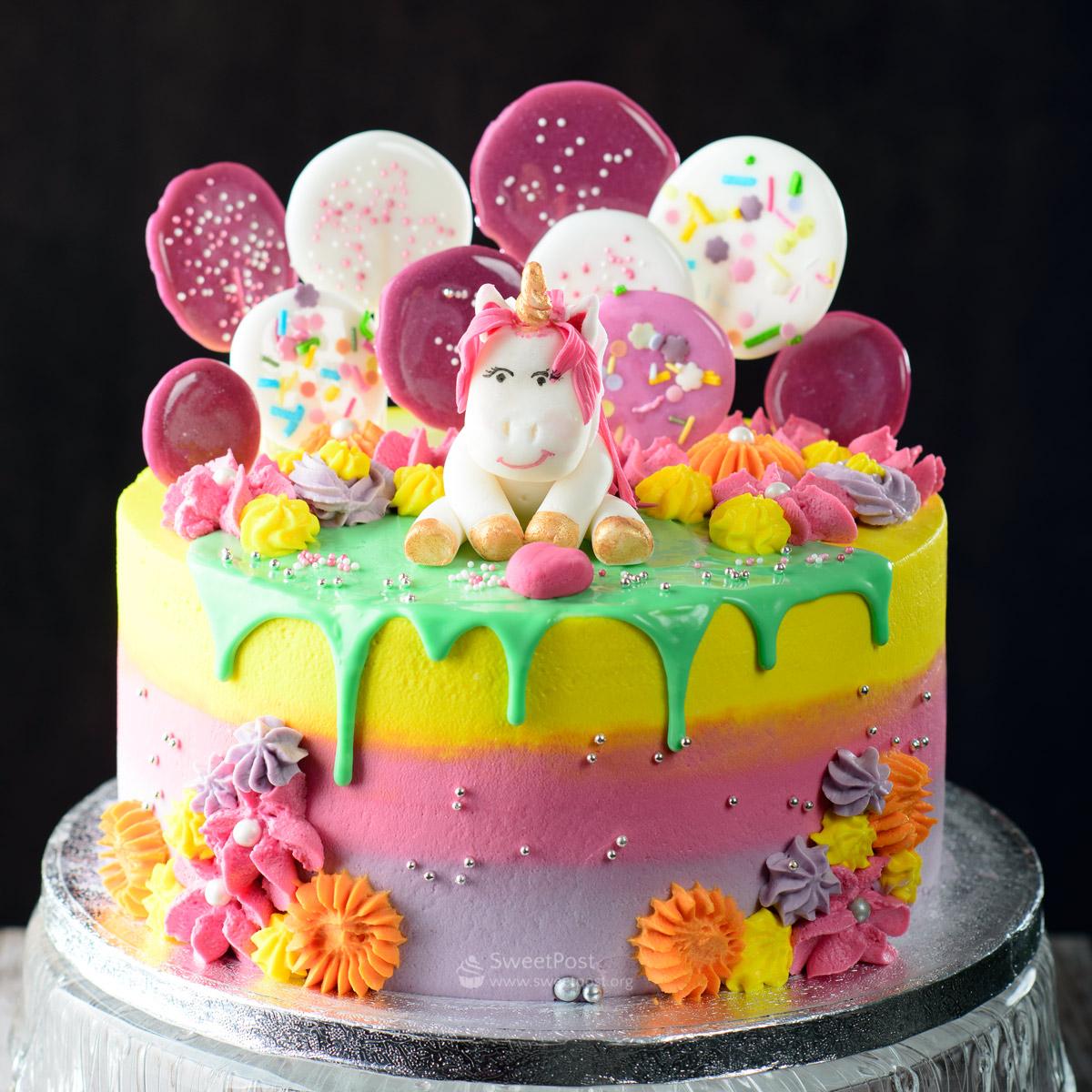 Remarkable Lollipop Cake Sweet Post Birthday Cards Printable Inklcafe Filternl